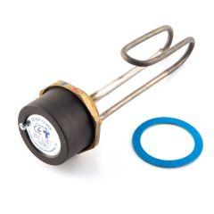 """Immersion Heater Titanium 14"""" Plus Thermostat"""
