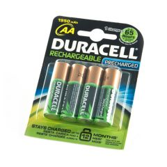 NiMH Rechargeable Batteries - Pack of 4