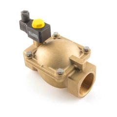 Servo-Assisted Water Solenoid Valve - 1.1/4""