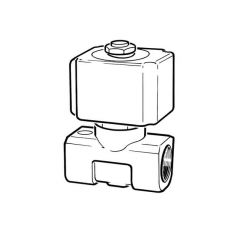 Directly Activated Water Solenoid Valve - 1/4""