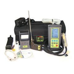 TPI 716 Flue Gas Combustion Efficiency Analyser Kit 1