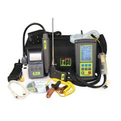 TPI 716 Flue Gas Combustion Efficiency Analyser Kit 4