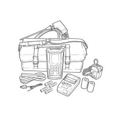 TPI 717R Flue Gas Combustion Efficiency Analyser Kit 1