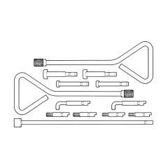 Unikey Manhole Lifting Key Kit