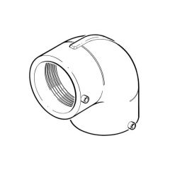 Universal Electrofusion 90° Elbow - 160mm
