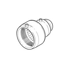 Universal Electrofusion End Cap - 125mm