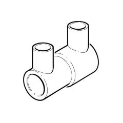 Universal Electrofusion Reducing Coupler 32mm x 25mm