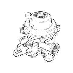 Propane Low Pressure Regulator - 30 kg/hr