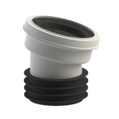Viva Easy-Fit Toilet Pan Connector - 14° Angle