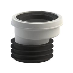 Viva Easy-Fit Toilet Pan Connector - 20mm Offset