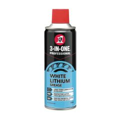 3-In-One White Lithium Grease - 400ml Spray Can
