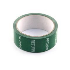 Return Tape - 36mm x 33m White on Green