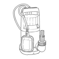 Wilo Initial Drain 13/9 Submersible Drainage Pump
