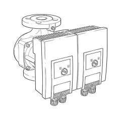 Wilo Yonos MAXO-D50/0.5-9PN6/10 Commercial Heating Pump