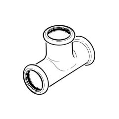 Xpress Stainless Equal Tee - 28mm
