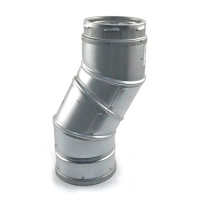 Schiedel B Vent Adjustable Flue Bend - 125mm