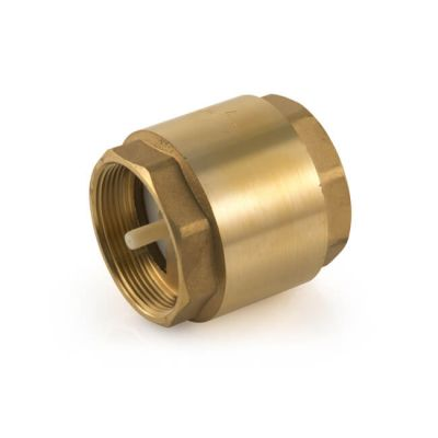 "Single Check Valve 90°C - 1.1/2"" BSP"