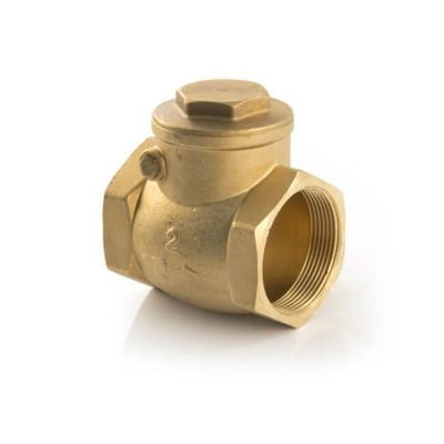 "Water Swing Check Valve - Brass 1.1/2"" BSP"
