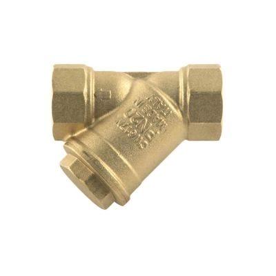 "Y In-line Strainer Brass - 1/2"" BSP PF"
