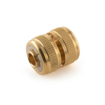 "1/2"" Brass Hose Repair Connector"