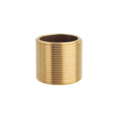 "Brass Threaded Running Nipple - 1/8"" BSP P"