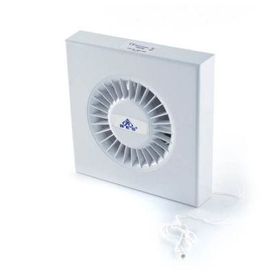 100 mm - Fan With Pull Cord - Wall Fan