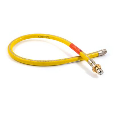 "Straight Bayonet Cooker Hose EN14800 - 1/2"" x 1000mm"