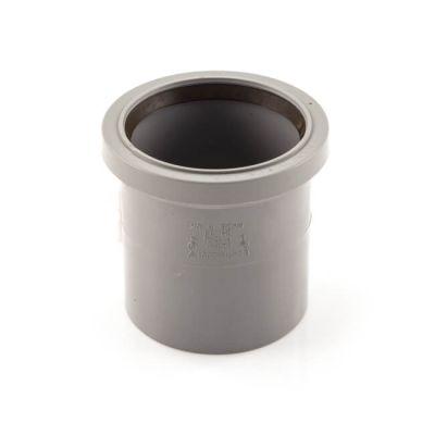 Soil & Vent Single Socket - 110mm Grey