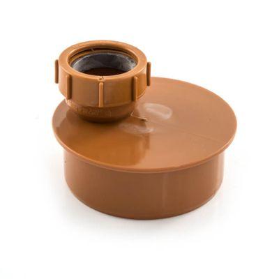 Waste Pipe Adaptor - 110mm x 50mm Single To Socket