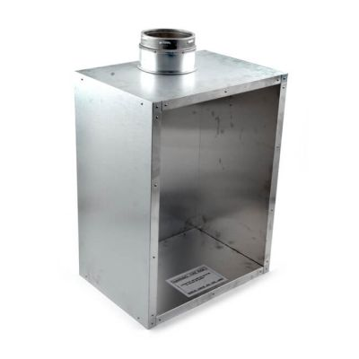 Schiedel Recessed Flue Box for Gas Fires - 125mm