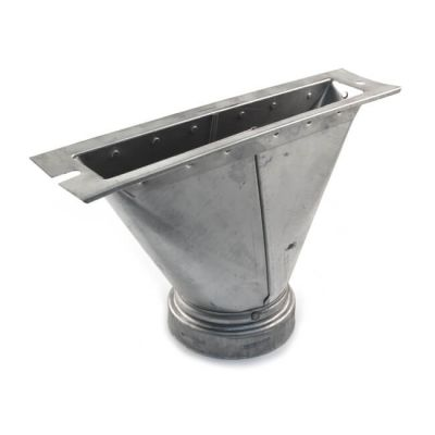 Schiedel B Vent Ridge Tile Adaptor - 125mm