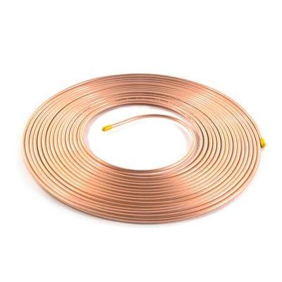 "Copper Coil - 15m x 5/8"", 20 SWG"