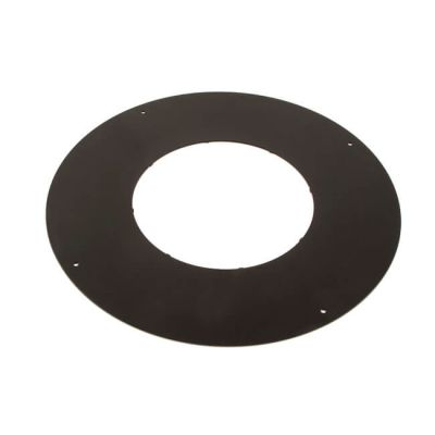 ICID Plus Bungalow Firestop Plate 150mm Black