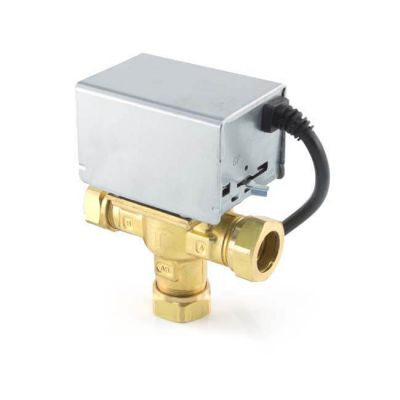Motorised Mid-position Valve - 3 Port 22mm