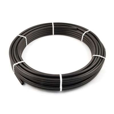 HPPE Black Mains Water Pipe - 20mm x 50m