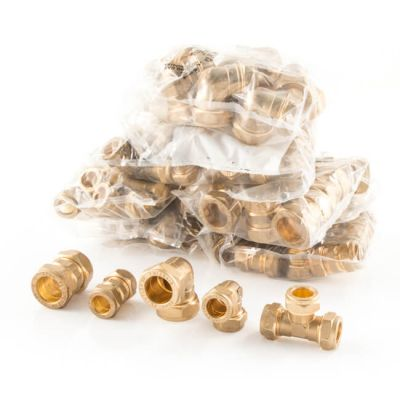 Fittings Pack UK Compression - 200 Piece