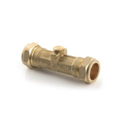 Double Check Valve, Non Return - 22mm DZR