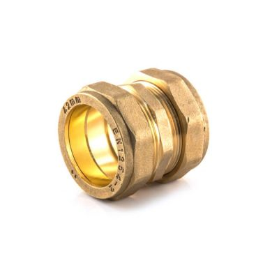 Compression Straight Coupling - 22mm x 22mm