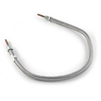 "LPG High Pressure Galv. Braided Hose - 24"" x 3/8"""