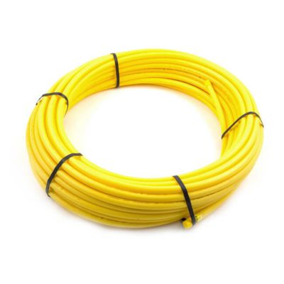 Gas Pipe Coil - 25mm x 50m Yellow MDPE