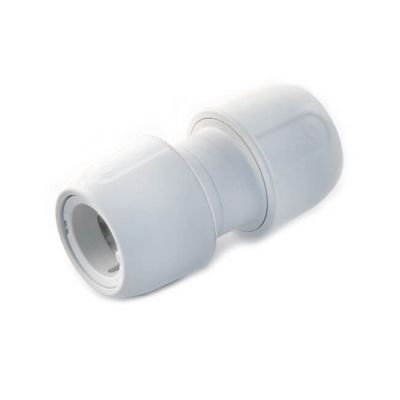 Hep2O® Straight Connector - 28mm White