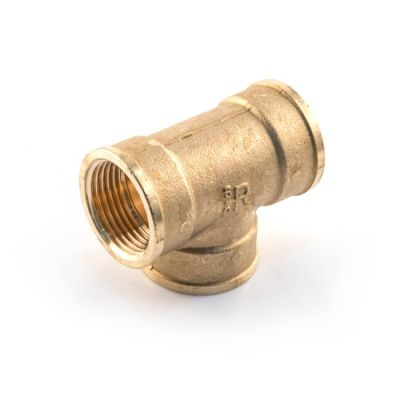 "Brass Threaded Equal Tee - 2"" BSP PF"