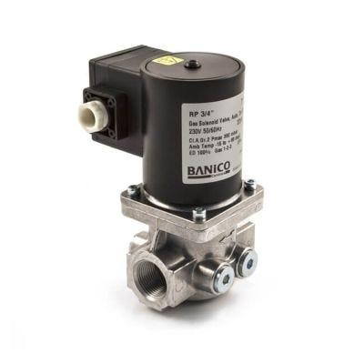 """Solenoid Gas Safety Shut Off Valve - 3/4"""""""