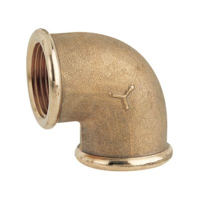 "Brass Threaded Equal Elbow - 3/4"" BSP PF"