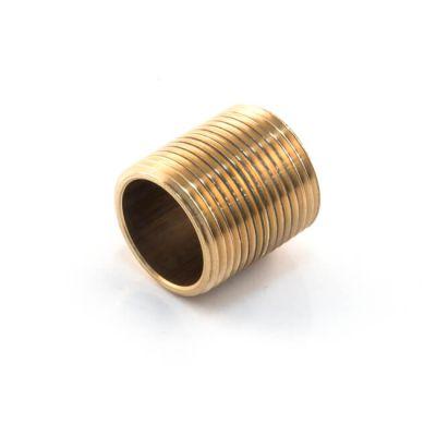 """Brass Threaded Close Taper Nipple - 3/4"""""""
