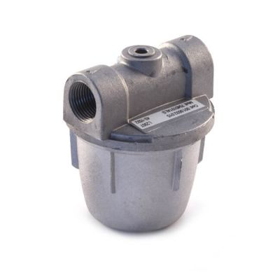 "In-Line Oil Filter - 3/8"" with Nylon Filter"