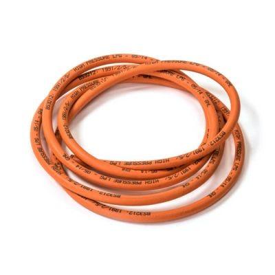 Orange High Pressure Hose - 4.8mm Bore, 3m Coil