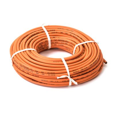 Orange High Pressure Hose - 4.8mm Bore, 50m Coil