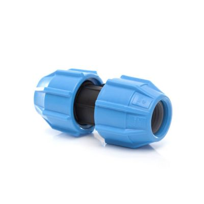 Polyfast Straight Coupling - 50mm MDPE