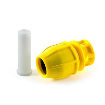 Philmac® End Cap - 63mm Yellow MDPE